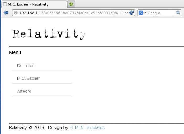 Relativity hacking challenge – Techorganic – Musings from